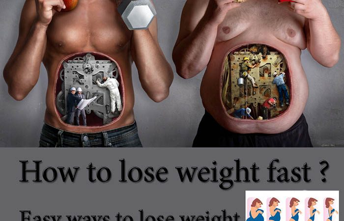 How to lose weight fast?